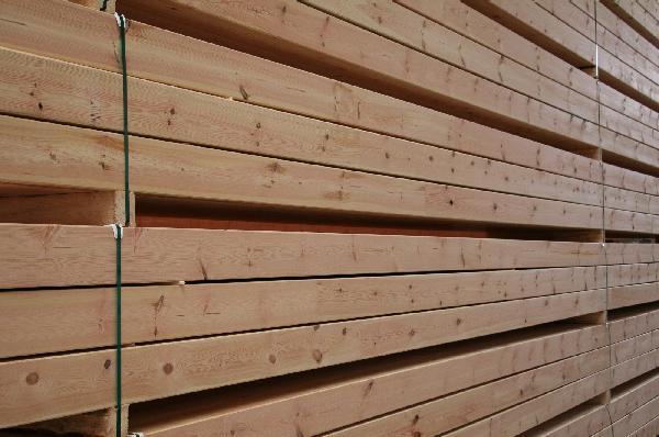 Poutre contre-collée pin autoclave classe 4 brun 200x200mm 13,00m