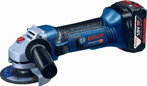 Visseuse GSR 18V +visseuse choc+meuleuse+3 batteries+chargeur