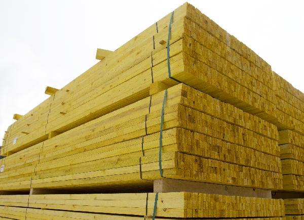 Liteau sapin/épicéa traité classe 2 22x50mm 4,00m