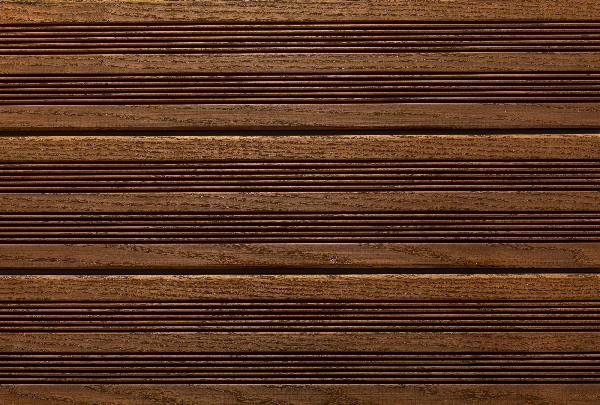 Lame terrasse frêne thermo 2 peignes 20x140mm 2,80m