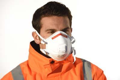Masque coque avec soupape FFP3 SIROCCO boite 10